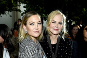 Nicole Kidman and Kate Hudson attend the Michael Kors Collection Spring 2020 Runway Show on September 11, 2019 in Brooklyn City.