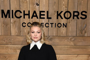 Olivia Holt attends the Michael Kors FW20 Runway Show on February 12, 2020 in New York City.