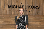 Harley Viera-Newton attends the Michael Kors FW20 Runway Show on February 12, 2020 in New York City.