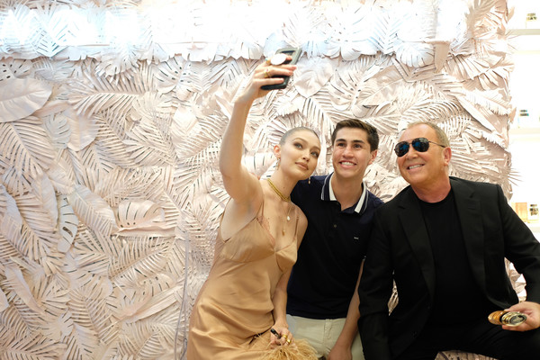 Michael Kors And Gigi Hadid Bring Fantasy Island To NYC For The Launch Of The Latest Wonderlust Fragrance Campaign