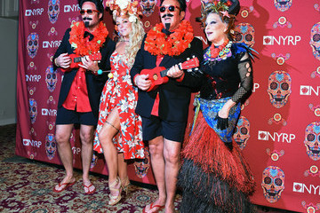 Michael Kors Lance Le Pere 2015 Hulaween Party Celebrating New York Restoration Project's 20th Anniversary