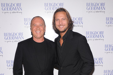 Michael Kors Lance Le Pere Bergdorf Goodman Celebrates It's 111th Anniversary At The Plaza In New York City - Arrivals