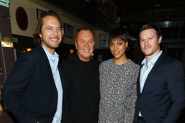 Michael Kors Lance Le Pere Michael Kors Celebrates David Downton Collaboration With Dinner in New York City