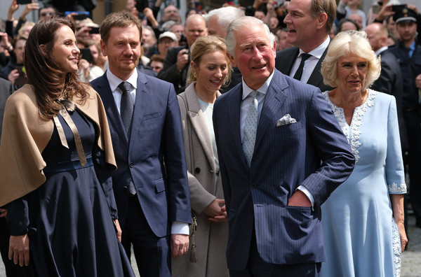 The Prince Of Wales And Duchess Of Cornwall Visit Germany - Day 2 - Leipzig