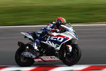 Michael Laverty British Superbike Championship Practice - Brands Hatch