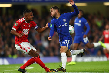 Michael Mancienne Chelsea v Nottingham Forest - Carabao Cup Third Round