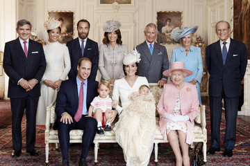 Michael Middleton Official Photographs of Princess Charlotte's Christening