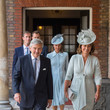 Michael Middleton Christening Of Prince Louis Of Cambridge At St James's Palace