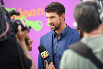 Michael Phelps Nickelodeon Kids' Choice Sports Awards 2017 - Red Carpet