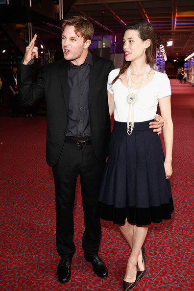 michael pitt and astrid berges frisbey photos photos