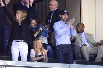 Michael Polish 2014 NHL Stanley Cup Final - Game One