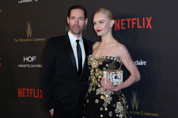 Michael Polish Arrivals at the Weinstein Company & Netflix 2016 Golden Globes After Party