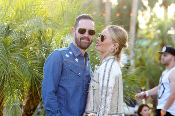 Michael Polish Street Style At The 2015 Coachella Valley Music And Arts Festival - Weekend 1