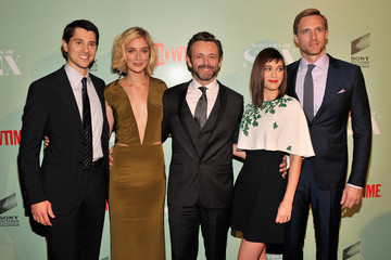 Michael Sheen Caitlin Fitzgerald 'Masters of Sex' Premieres in NYC