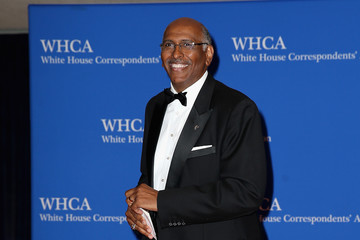Michael Steele 2017 White House Correspondents' Association Dinner - Arrivals