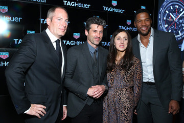 Michael Strahan DuJour Media's Jason Binn And Leslie Farrand Celebrate Cover Star Michael Strahan For The Opening Of TimeCrafters Luxury Watch Show