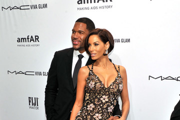 Michael Strahan Nicole Murphy amfAR New York Gala To Kick Off Fall 2013 Fashion Week - Arrivals