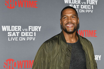 Michael Strahan Heavyweight Championship Of The World 'Wilder vs. Fury' Premiere - Arrivals