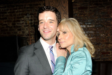 Michael Urie Press Room at the Drama Desk Awards