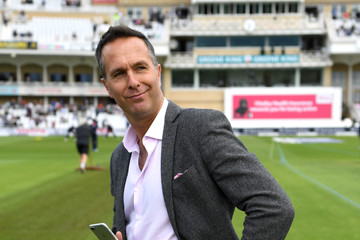 Michael Vaughan England v South Africa - 2nd Investec Test: Day One