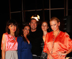 Nadine Warmuth, Sonja Kirchberger, Michael Michalsky,Jeannete Hain and Jenny Elvers-Elbertzhagen attends the Michalsky Style Nite 2012 party during the Mercedes-Benz Fashion Week Spring/Summer 2013 on July 6, 2012 in Berlin, Germany.