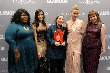 Michele Dauber Glamour Women of the Year 2016 - Backstage