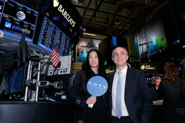 Michele Scannavini Coty Makes Public Debut at the NYSE