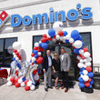 Michelle Bailey Domino's® Celebrates The Opening Of 18,000th Store