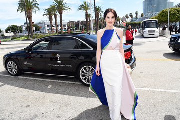 Michelle Dockery Audi Arrivals at the 66th Primetime Emmy Awards