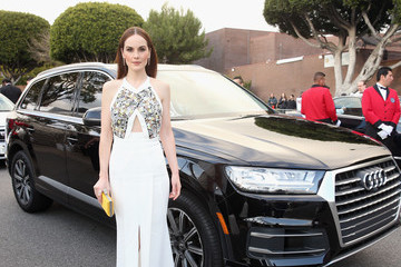 Michelle Dockery Audi Arrives At The 25th Annual Elton John AIDS Foundation's Academy Awards Viewing Party