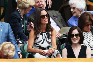 Michelle Dockery Wimbledon: Day 4
