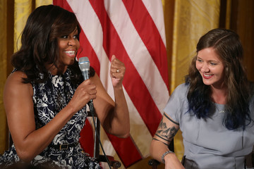 Michelle Obama First Lady Michelle Obama Holds Event at White House With College-Bound Students