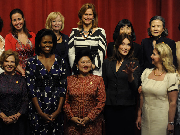 Michelle Obama Hosts Spouses Of World Leaders At Pittsburgh Summit
