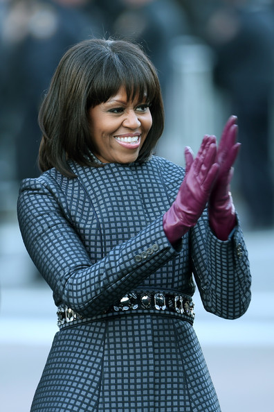 Michelle Obama - Inaugural Parade Held After Swearing In Ceremony