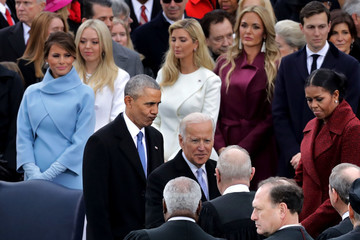 Michelle Obama Donald Trump Is Sworn In As 45th President Of The United States
