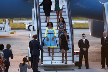 Michelle Obama Sasha Obama The First Lady Visits London As Part Of Her Let Girls Learn Initiative