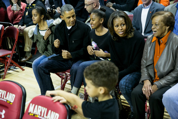 Download Michelle Obama Basketball Game Pics