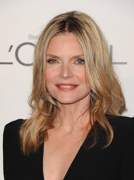 Michelle Pfeiffer Actress Michelle Pfeiffer arrives at ELLEs 18th