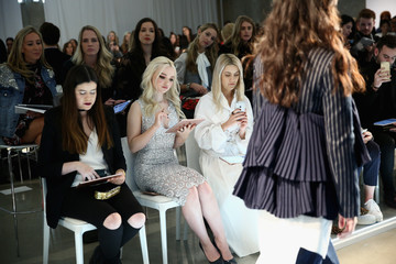 Michelle Plantan Who What Wear Runway Show February 2017 - Front Row