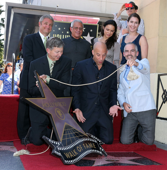 Vin Diesel Honored on the Hollywood Walk of FameVin Diesel And Michelle Rodriguez Photoshoot