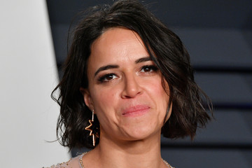 Michelle Rodriguez 2019 Vanity Fair Oscar Party Hosted By Radhika Jones - Arrivals