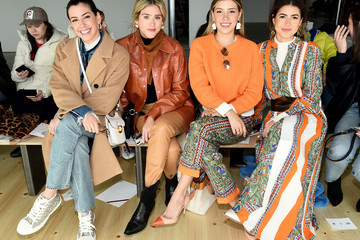 Michelle Salas Tory Burch Fall Winter 2019 Fashion Show - Front Row