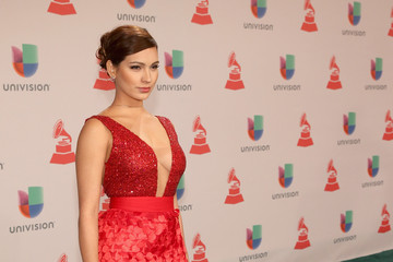 Michelle Vargas Heineken, The Official Beer Sponsor Of The Latin GRAMMY Awards, Celebrates The Biggest Night In Latin Music At The 15th Annual Latin GRAMMY Awards - Green Carpet
