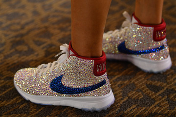 Michelle Wie The Solheim Cup - Preview Day 2