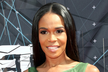 Michelle Williams Celebs Arrive at the 2015 BET Awards