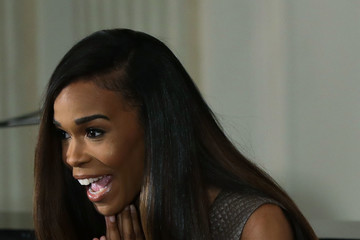 Michelle Williams Michelle Obama Hosts Musical Workshop at the White House