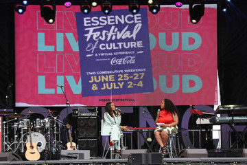 Michelle Williams 2021 ESSENCE Festival Of Culture Presented By Coca-Cola - Week 2 Day 3