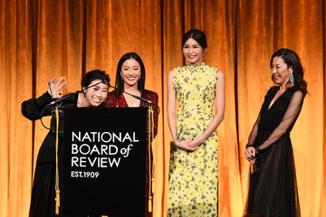Michelle Yeoh Awkwafina The National Board Of Review Annual Awards Gala - Inside
