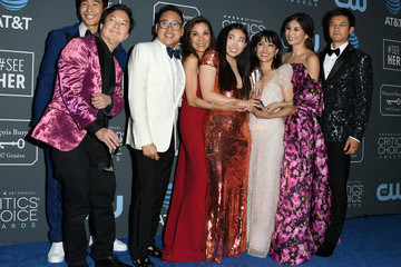 Michelle Yeoh Constance Wu The 24th Annual Critics' Choice Awards - Press Room