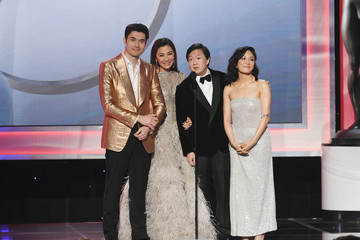 Michelle Yeoh Henry Golding 25th Annual Screen Actors Guild Awards - Inside